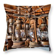 Lantern Chandelier Throw Pillow