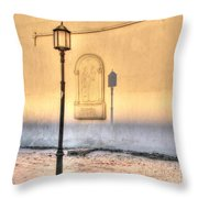 Lantern Day Throw Pillow