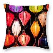 Lantern Stall 04 Throw Pillow