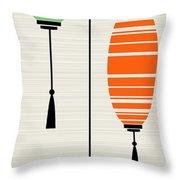 Lanterns 1 Throw Pillow