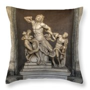 Laocoon And His Sons Throw Pillow