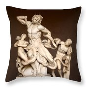 Laocoon And Sons Throw Pillow