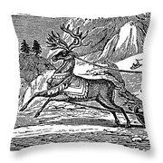Laplander, C1785 Throw Pillow