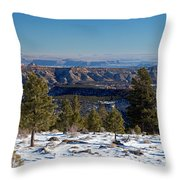 Larb Hollow Overlook Throw Pillow