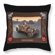 Laredo Or Bust Throw Pillow