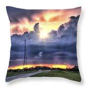 Large Cloud Throw Pillow
