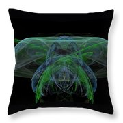 Large Jelly Fish Throw Pillow