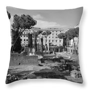 Largo Di Torre - Roma Throw Pillow