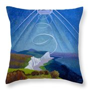 Lark Ascending Throw Pillow