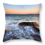 Larrabee Sunset Throw Pillow