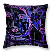 Larry And Mary Throw Pillow