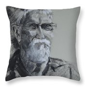 Larry From Life Throw Pillow