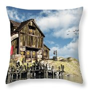 Lars Place... Throw Pillow