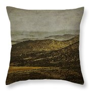 Las Colinas - The Hills Throw Pillow