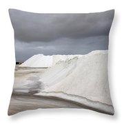 Las Coloradas Salt Flat Throw Pillow