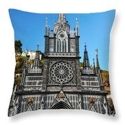 Las Lajas Front Throw Pillow