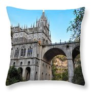 Las Lajas Sanctuary Throw Pillow