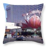 Las Vegas 8 Throw Pillow