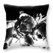 Las Vegas Flowers Throw Pillow