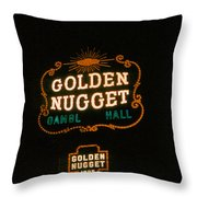 Las Vegas Light 3 Throw Pillow