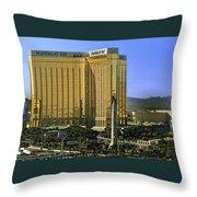 Las Vegas - Mandalay Bay Throw Pillow