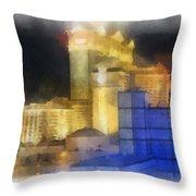 Las Vegas The Palace Photo Art Throw Pillow