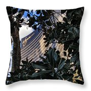 Las Vegas - Wynn Hotel Throw Pillow