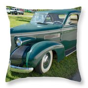 Cadillac Lasalle In Style Throw Pillow