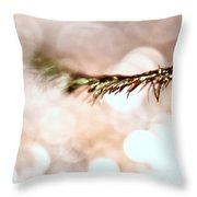 Lashes Throw Pillow