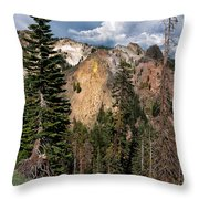 Lassen Volcanic Throw Pillow