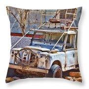 Lasseter Land Rover Throw Pillow