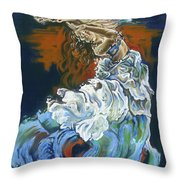 Dive Into Your Soul Throw Pillow