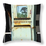 Last Cigarette Palm Springs Throw Pillow