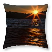 Last Day Of Summer... Throw Pillow
