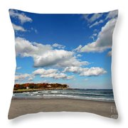 Last Days Of Warmth Throw Pillow