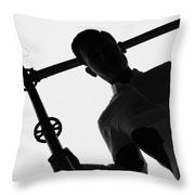 Last Days Out  Throw Pillow