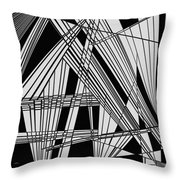 Last Ditch Attempt Throw Pillow