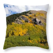 Last Dollar Road  4 Throw Pillow