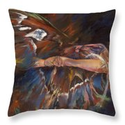 Last Flight Throw Pillow