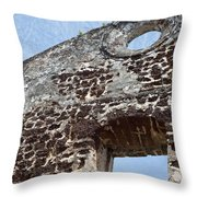 Last Fortress Throw Pillow