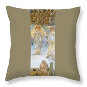 Last Judgement Throw Pillow