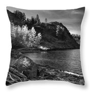 Last Light Before The Storm Throw Pillow