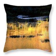 Last Light Near Telluride Throw Pillow