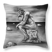 Last Man In The World Edit 4 Throw Pillow