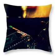 Last Night's Faux Warmth Throw Pillow
