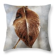 Last Of Cold  Throw Pillow