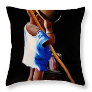 Last Of The Stew Throw Pillow