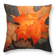 Last Out Throw Pillow