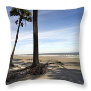 Last Pine Standing Throw Pillow