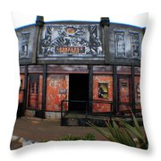 Night Gallery - Ghost Train Throw Pillow